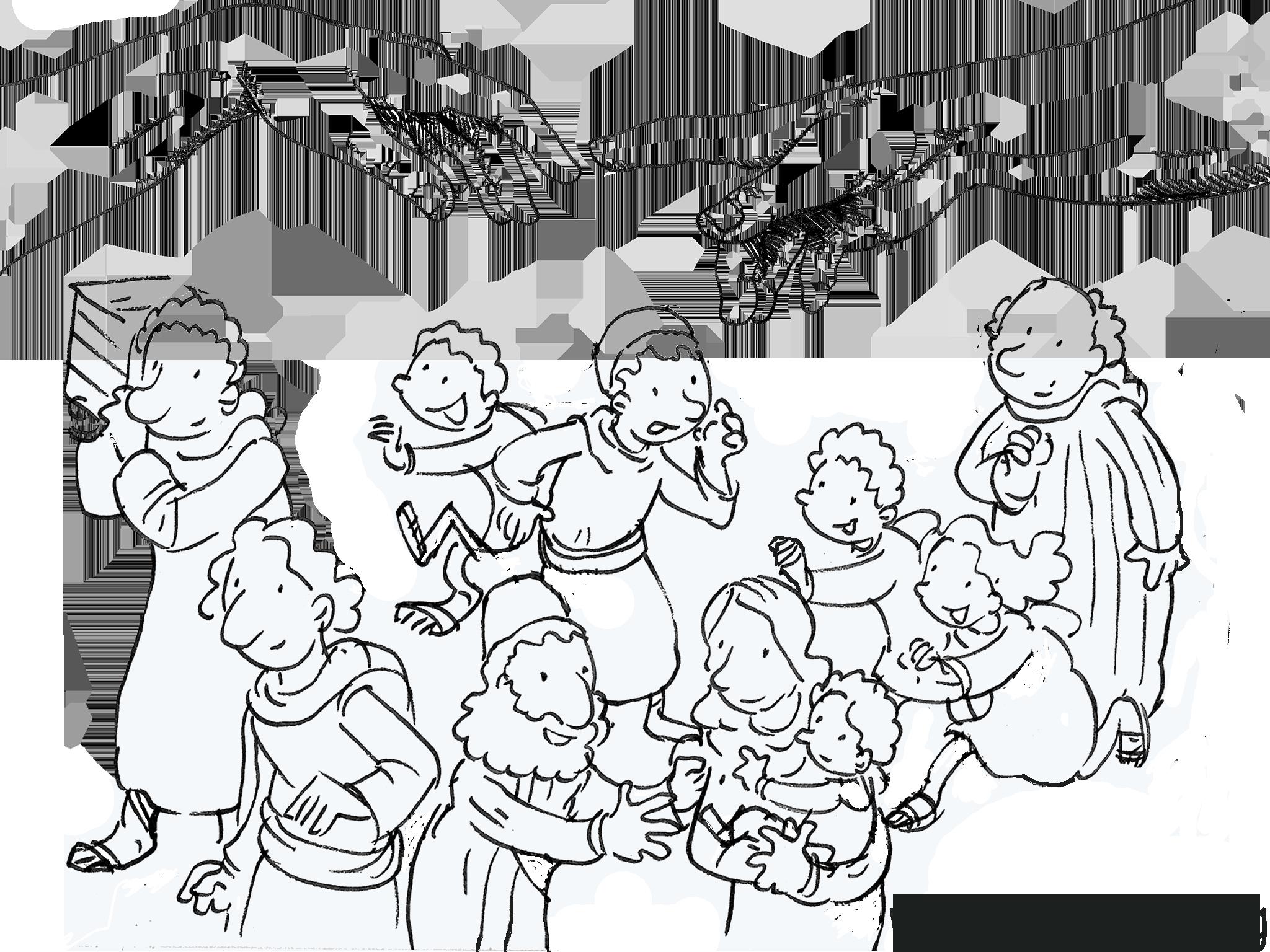 Assez Dieu et son peuple avec Jérémie - Jr 31, 31-34 - catéchèse enfants  VY24